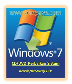 Gambar: Label Repair/Recovery Disc