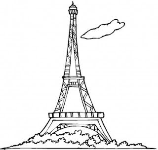 paris paris eiffel tower cartoon