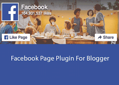 Embed New Facebook Page Plugin in Blogger Template