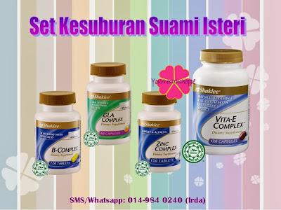 vitamin kesuburan shaklee
