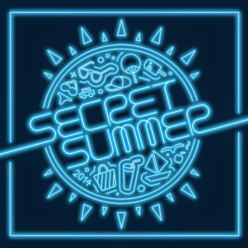SECRET SECRET SUMMER cover