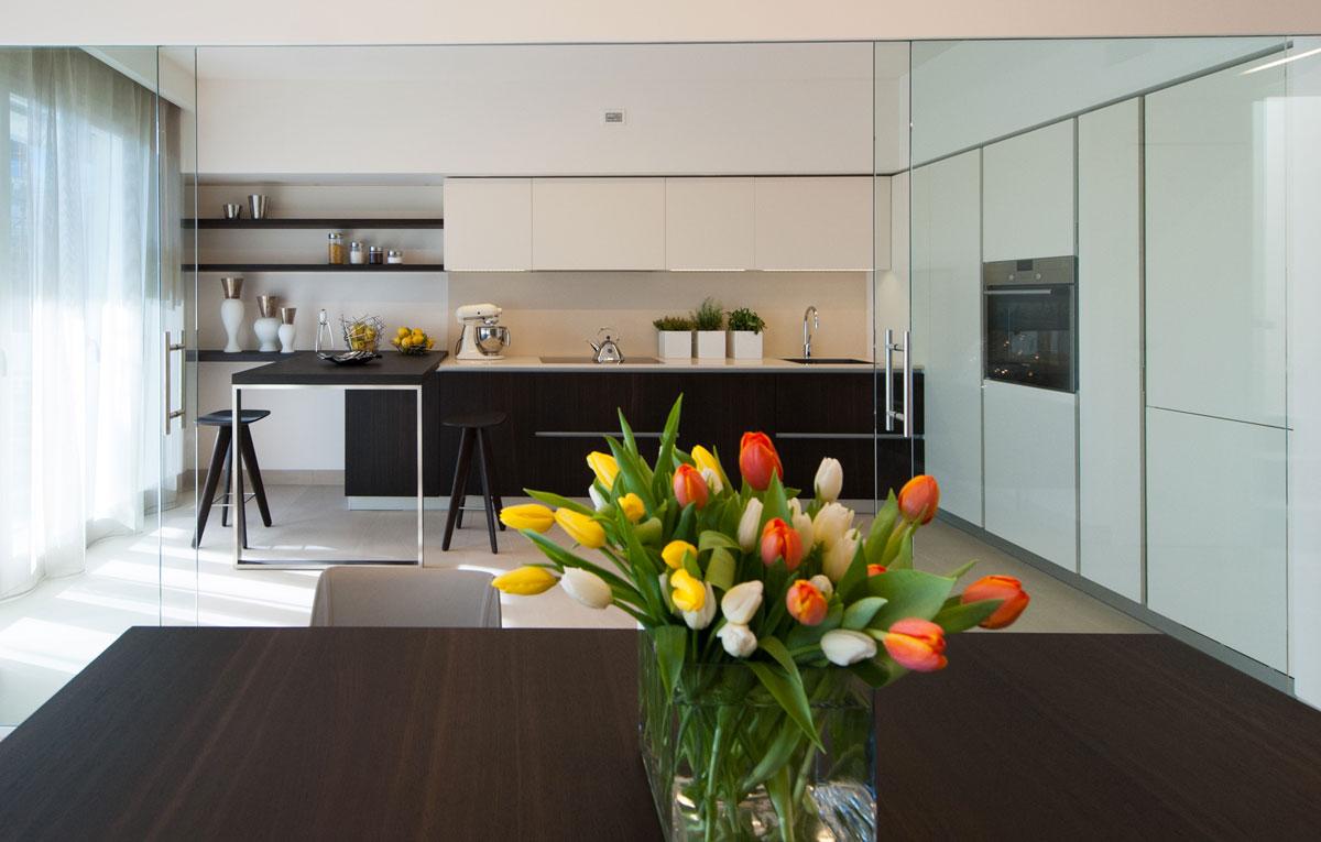 Espacios sin separaci n visual cocinas con estilo for Separacion cocina salon