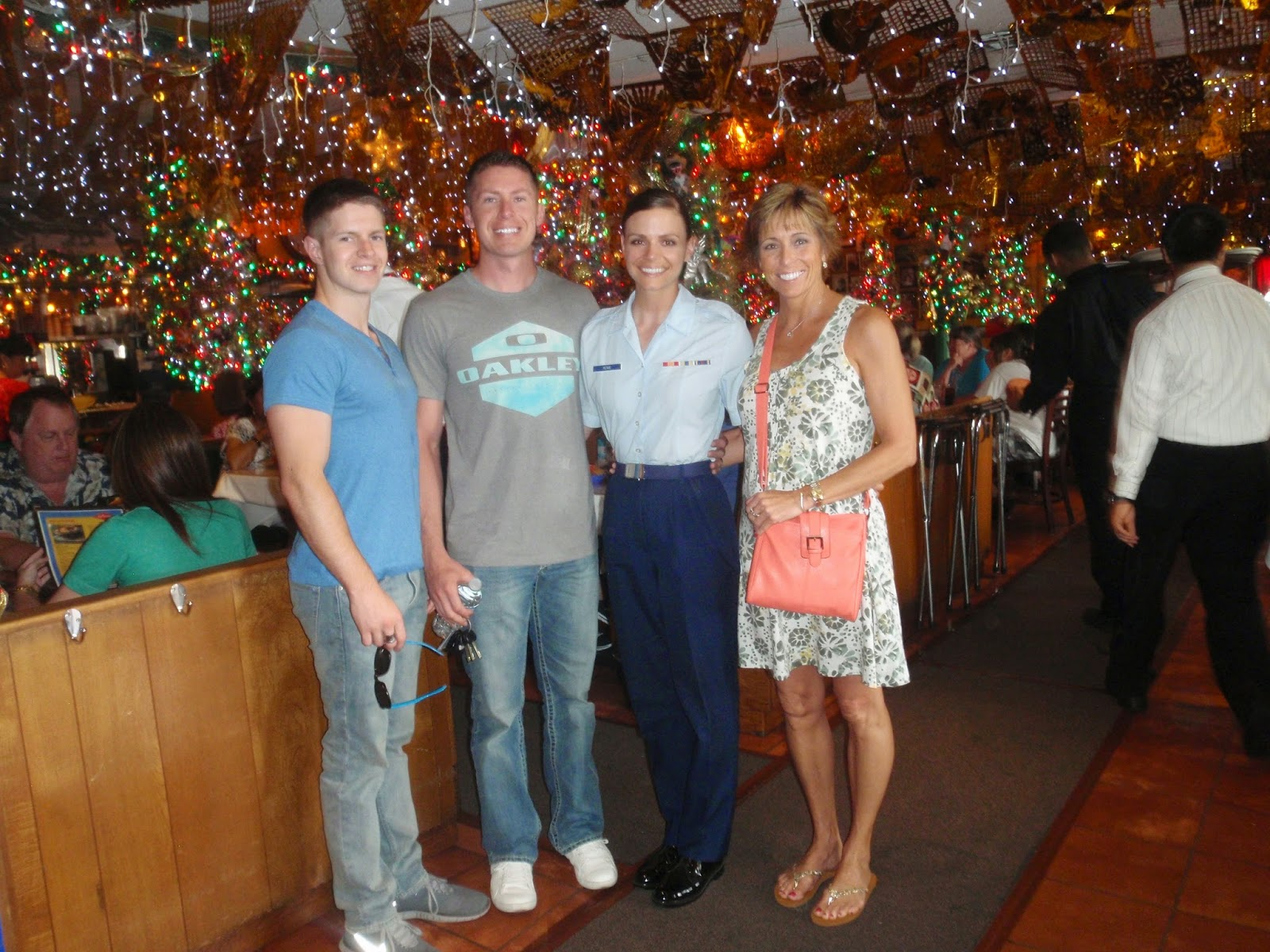 BMT Graduation, Town Pass in San Antonio, Mi Tierra at El Mercado