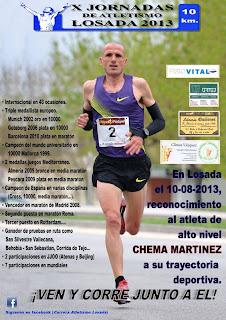 chema martinez losada carrera popular de losada www.mediamaratonleon.com