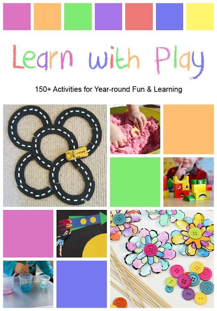 Learn with Play: 150+ Activities for Year-Round Fun & Learning, the new collaborative book filled with kid's activities from your favorite bloggers!