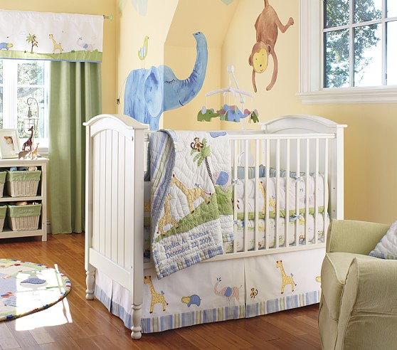 Pottery Barn Kids crib bedding