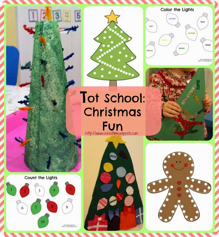 8 Christmas Activities & Printables for Toddlers | School Time ...