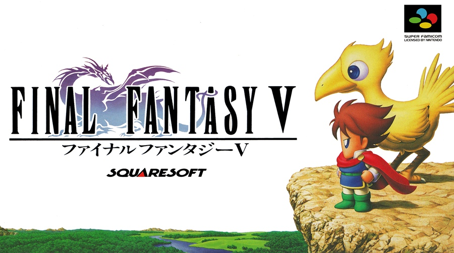 Final Fantasy V PC Download Poster