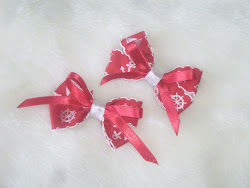 cute sailor bow hairclips