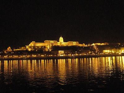 Danube night cruise, Budapest