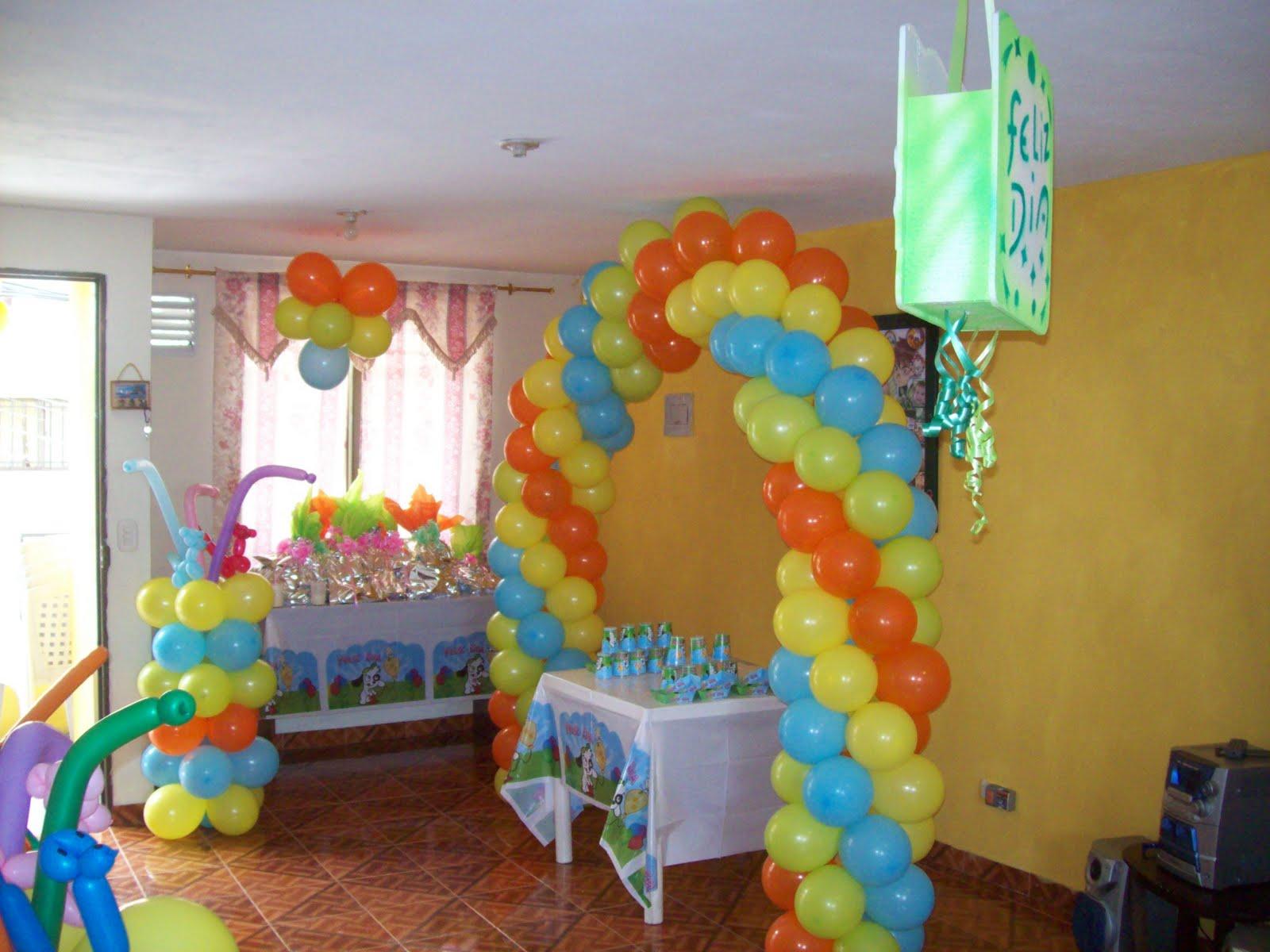 Arcos con globos fiestas infantiles fiestas infantiles y - Globos para eventos ...