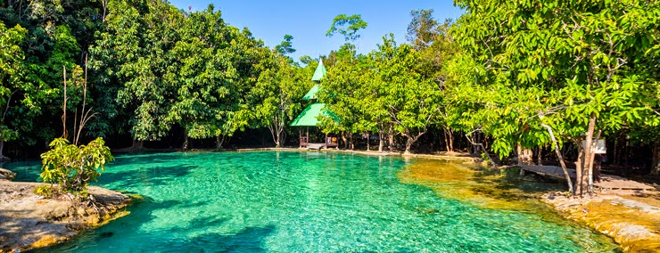 البحيرة الكريستالية في كرابي