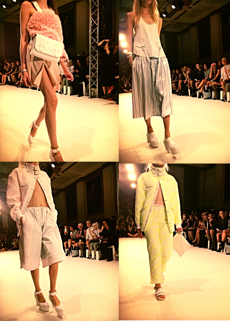 Jamie Wei Huang SS15 collection LFW