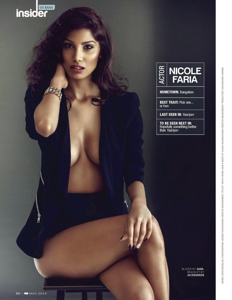 Nicole Faria For GQ Magazine, India, May 2014