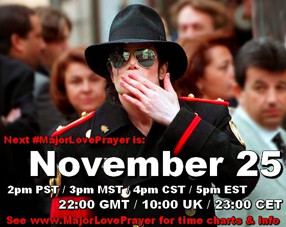 Global Prayer Meditation Michael Jackson