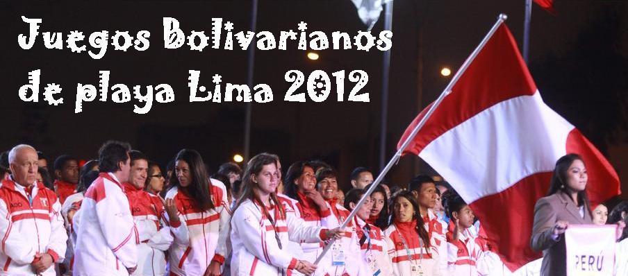 Juegos Bolivarianos de Playa 2012