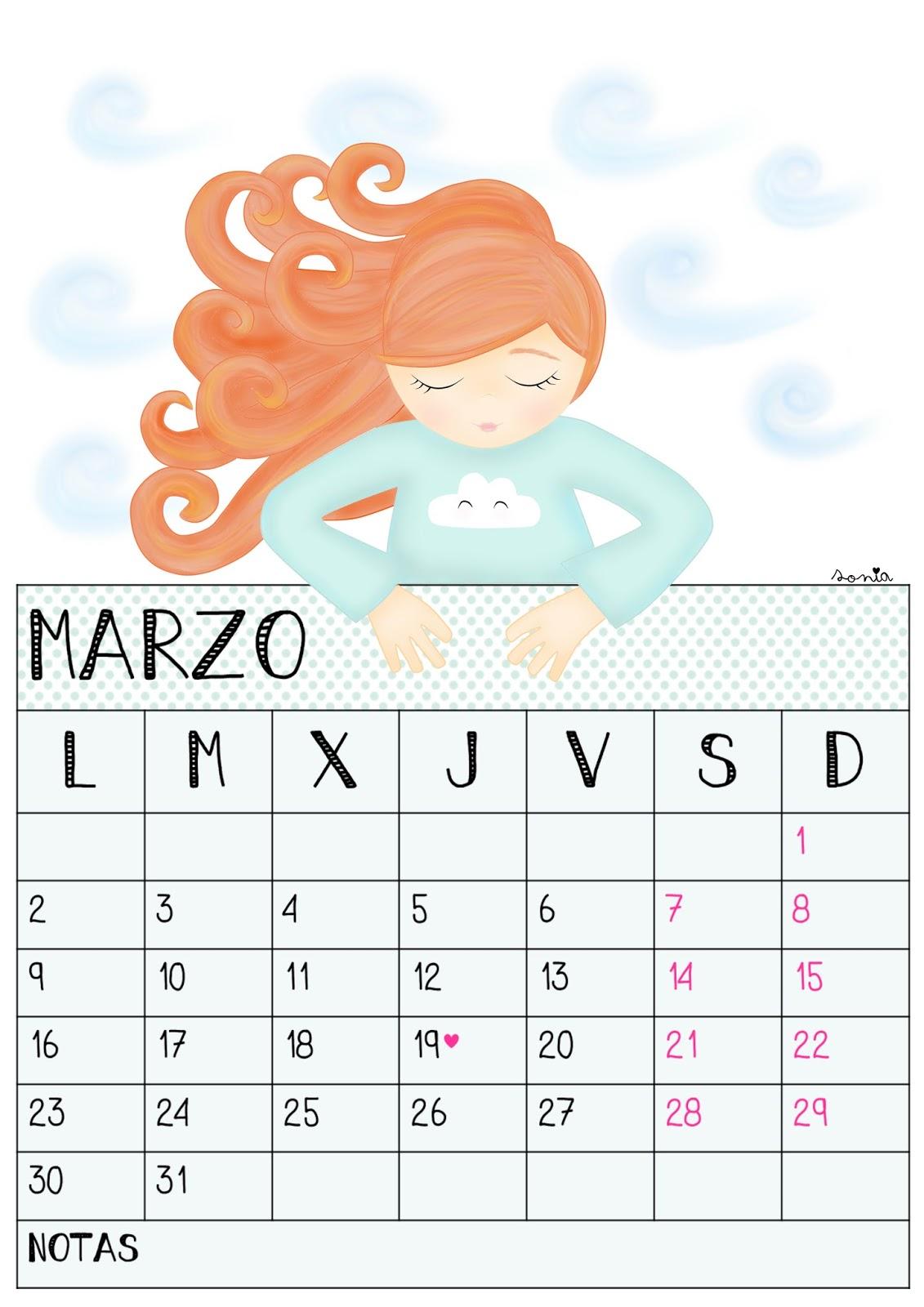 Calendarios-Marzo-NinaBonita