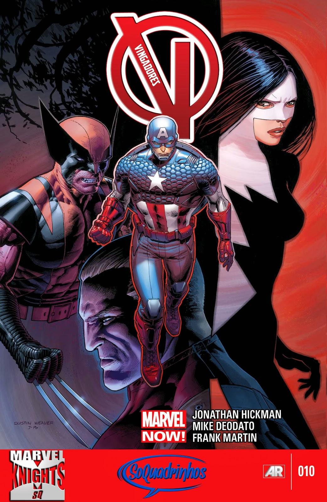 Nova Marvel! Vingadores v5 #10