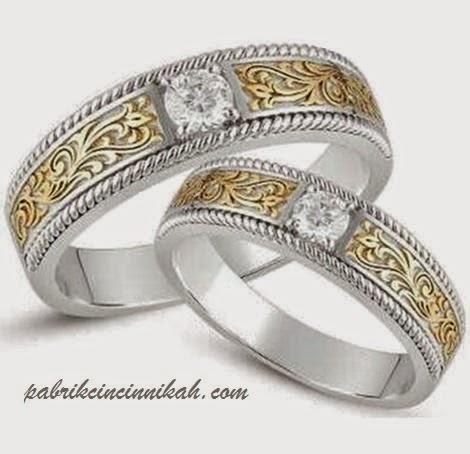 Model cincin kawin batik