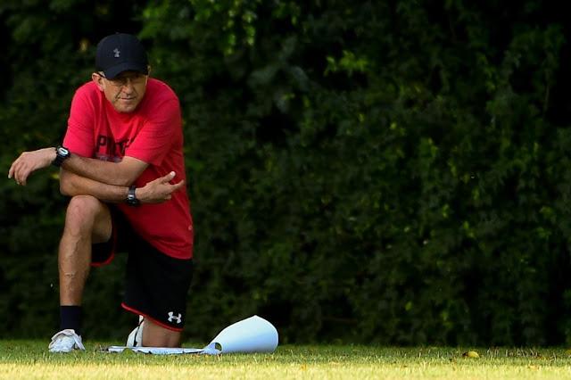 Após duas derrotas, Osorio já está pressionado no comando do São Paulo (foto: Djalma Vassão/Gazeta Press)
