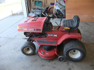 lawn chief riding mower, craigslist, 11hp, 11-36