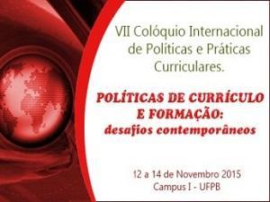 Colóquio Internacional de Políticas e Práticas Curriculares