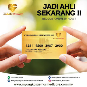MyANGKASA Emas Medical Card