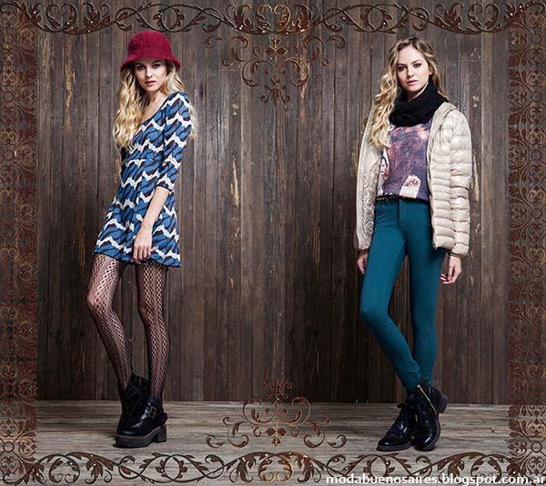 Vestidos cortos invierno 2014 colección Rimmel.