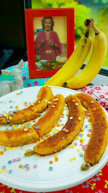Fanny Cradock Fried Bananas