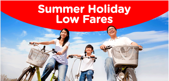 AIR ASIA: Summer Holiday Low Fares. Don't Miss Out!