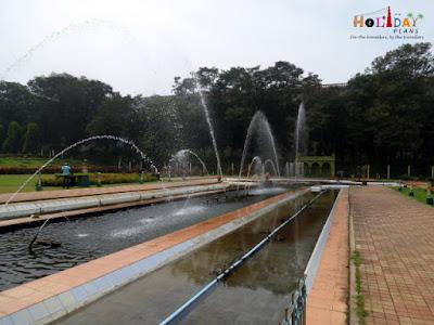 coloured fountains of brindavan gardens