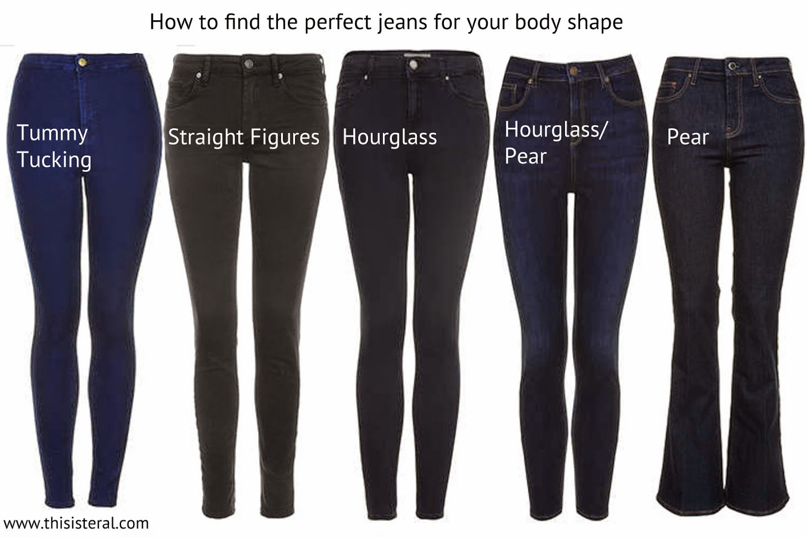 Finding The Perfect Jeans To Suit Your Body Shape