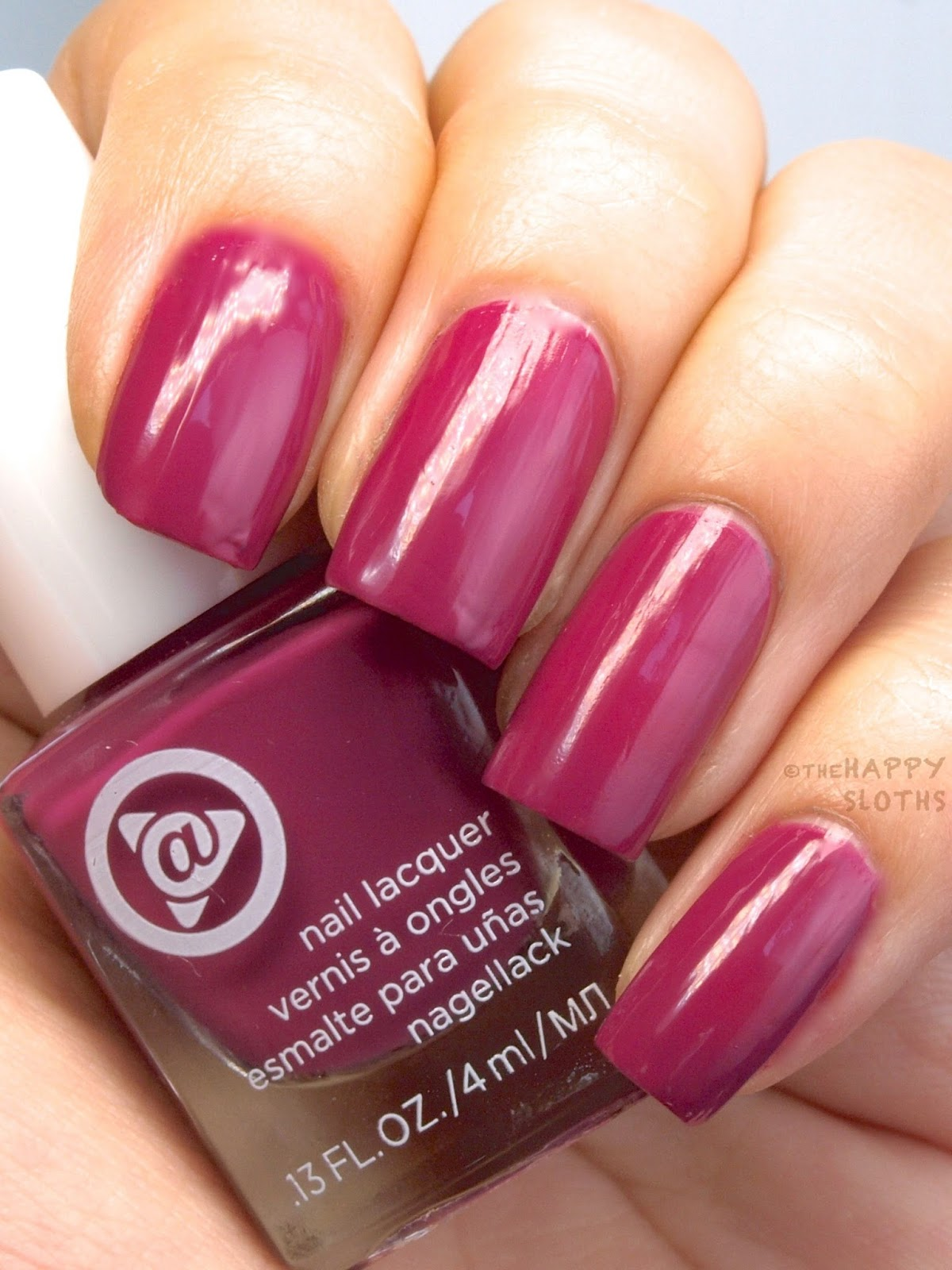 Mary Kay At Play Hail to the Nails Mini Nail Lacquer Trio: Review and Swatches Pink Hottie