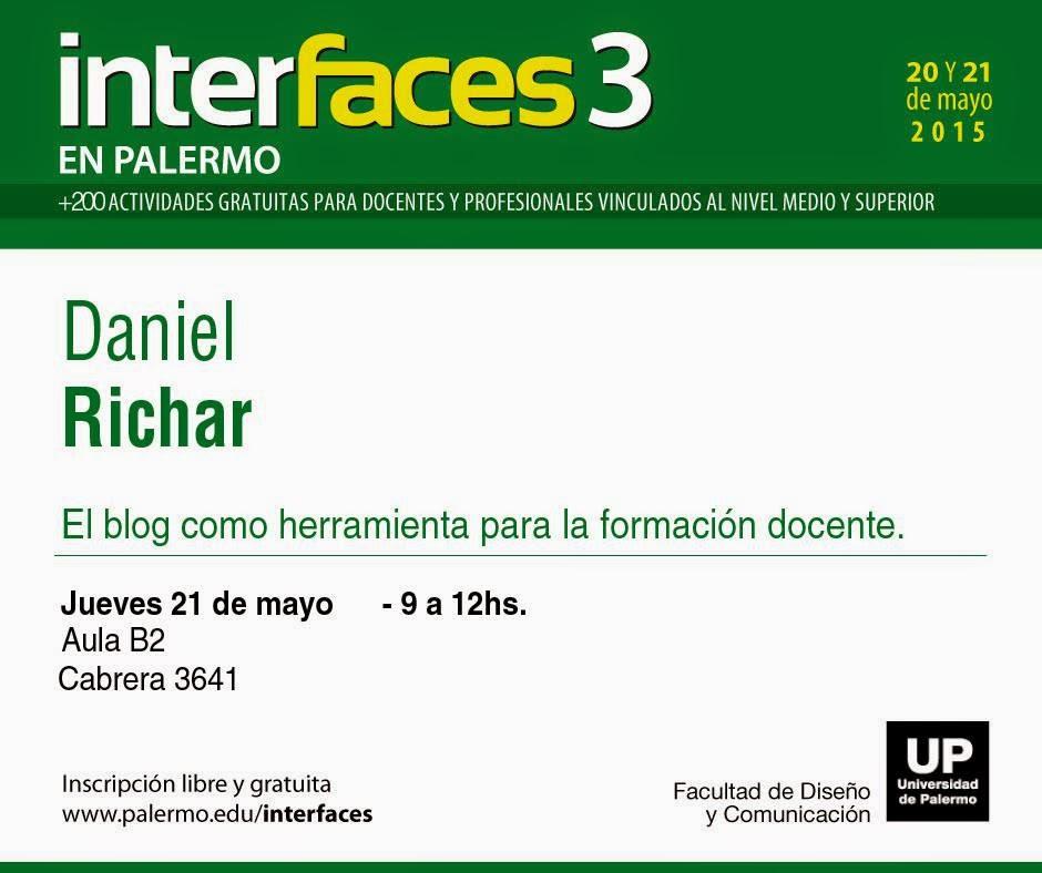 Presentación en la Universidad de Palermo