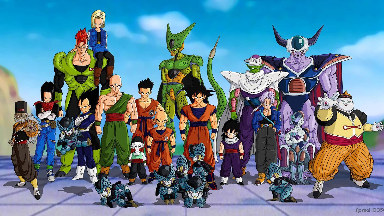 Dragon Ball Z Gt Wallpapers