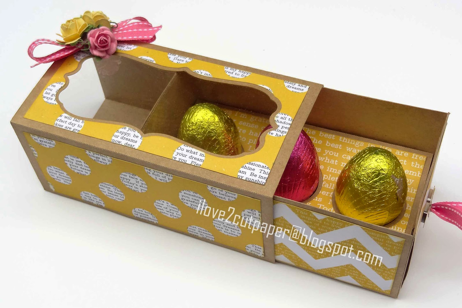 SVG and WPC cutting files, Easter Egg Box