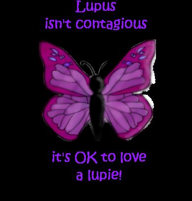 Purple Butterfly Lupus