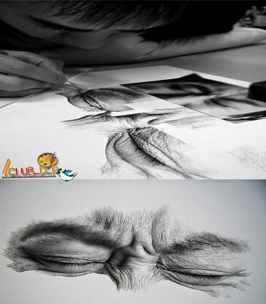 Club Drawings Paintings - 29 incredible examples 3d pencil drawings