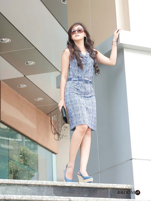 Model Nan Thu Zar in  Dress Fashion