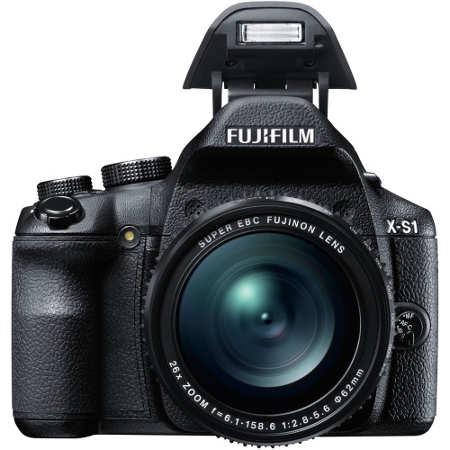 Fujifilm X-S1 Lens And Flash