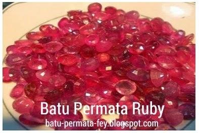 Batu Permata Ruby | Batu Merah Delima | Ruby Stone