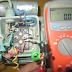 كيفية فحص محرك  220 فولت مزود بمكثف ومفتاح طرد مركزي.