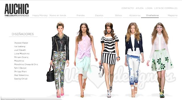 tienda de lujo online