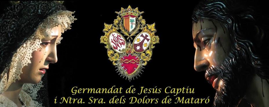 Germandat de Jesús Captiu i Ntra. Sra. dels Dolors de Mataró