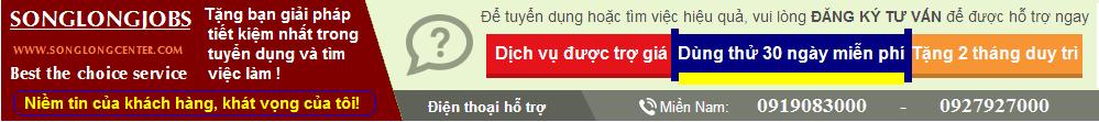 GIỚI THIỆU VIỆC LÀM SONG LONG - Web Việt Nam về tuyển dụng, Nguonvieclam...