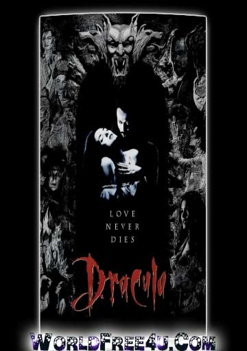 Poster Of Dracula (1992) In Hindi English Dual Audio 300MB Compressed Small Size Pc Movie Free Download Only At World4ufree.Org
