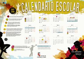 CALENDARIO ESCOLAR 2017 - 2018