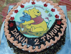 Kek Cokelat Birthday EI
