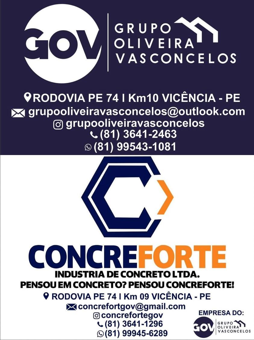 GRUPO OLIVEIRA VASCONCELOS/CONCREFORTE!