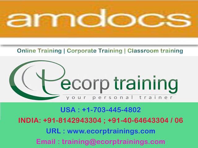 AMDocs CRM Billing Online Training Hyderabad India